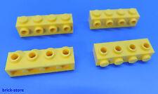 LEGO®  Nr- 4164073 / 1x4 Grundbaustein mit Noppen gelb / 4 Stück