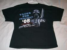 Darth Vader for President 08 STAR WARS Black Giant T-shirt Men's XLarge XL used