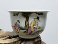 Chinese Porcelain Families Rose Flower Planter