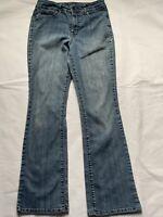 nine west women's med wash denim jeans size 8/28
