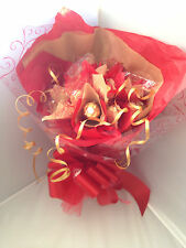 FERRERO ROCHER VALENTINE ,BIRTHDAY BOUQUET HAND MADE PERFECT GIFT FOR A LADY