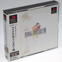 Final Fantasy VIII 8 PS1 Sony Japan Import PlayStation SQUARE PSX Complete RARE!