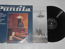 PUNTILA - DESSAU - BRECHT - 2xLP auf Eterna black Label  mit Booklet