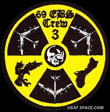 USAF 69th EXPEDITIONARY BOMB SQUADRON - CREW 3 - Minot AFB ORIGINAL PATCH