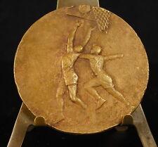 Médaille Sport féminin Women's Basket-ball 57g 50mm par Fraisse 1935  Medal