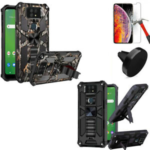 Phone Case For AT&T Maestro Max / Cricket Ovation 2 Shock Absorbing Kickstand