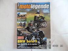MOTO LEGENDE N°180 06/2007 BMW SERIE 5 YAMAHA RD 250 PMS 250  E2