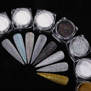Nail Art 1g/Box Gradient Sugar Dust Powder Tips Decoration Nail Powder