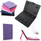 PU Leather Case Cover Micro USB Keyboard w/ Stylus for 7'' 8'' 10'' inch Tablet