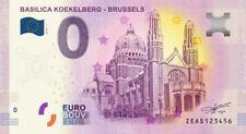 Billet Touristique 0 Euro - BEL - Basilica Koekelberg - Brussels - 2018-1
