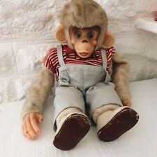 Vintage Monkey Toy Soft Teddy RARE