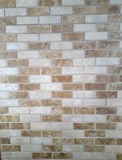 BCT Capri Mosaic tiles BRICK SHAPED MATT FINISH STONE EFFECT MOSAIC