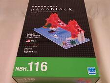 Kawada Nanoblock Golden Gate Bridge Usa - japan building toy block Nbh_116