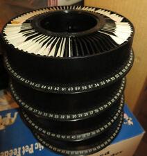 Lot of 4 Genuine Kodak Carousel 80 Slide Tray w/Slides