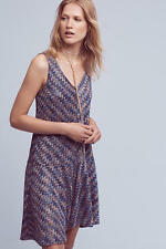 NWT Anthropologie Westwater Knit Dress, by Maeve - Blue, size S