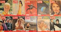 Lot of 20 1960 LIFE Mags JFK Doris Day Nancy Kwan Loren Carroll Baker Football-F