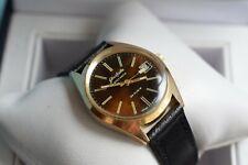 Beautiful  GOLD Glashutte Spezimatic mechanical german wrist watch