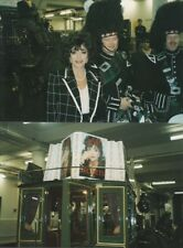 JOAN COLLINS - Selection of SEVEN Private Photo's HARRODS Book Signing 1994 F#1
