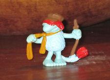Jim Henson FRAGGLE ROCK Boober PVC Mini Figure Schleich Blue Plastic
