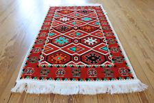 65x120 cm ORIENTAL TAPIS, Tapis, Kelim , Tapis, damaskunst rug S 1-2-40