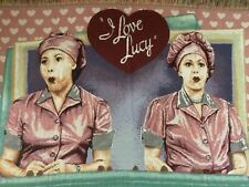 I Love Lucy Candy Chocolate Factory Throw Blanket Afghan Tapestry Fringe