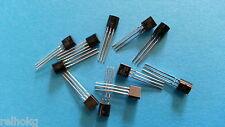 10x Transistor 2N2222 NPN TO-92 - ARDUINO DIY modélisme (envoi de France) E054