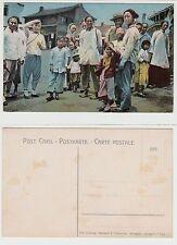 China ,Shanghai Pinyin,Happy Chinese people Deutsche Kolonie um 1910