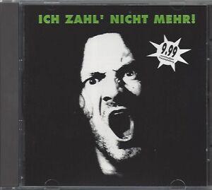 SAMPLER / ICH ZAHL' NICHT MEHR! - HEAVY METAL * NEW CD COMPILATION  * NEU *
