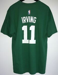 Kyrie Irving Adidas NBA Boston Celtics #11 T-Shirt NEW Men's 2XL FREE SHIPPING