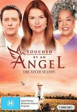 TOUCHED BY AN ANGEL - SEASON 6 - DVD - Region 2 UK Compatible - sealed