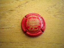 capsule de champagne chateau de boursault  n°22  (rouge et or) cote 8€