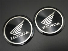 Fuel Gas Tank Fairing Round Emblem Decal For Wing Honda Sticker Motorcycle 50mm