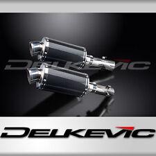 "Honda CB1300DC X-4 9"" Carbon Oval Muffler Slip On Exhaust 97 98 99 00 01 02 03"