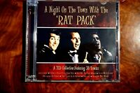 A Night On The Town With The Rat Pack  - CD, VG