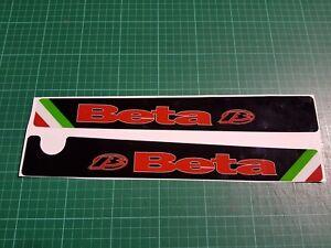 Beta Rev 3 Trials Bike Swinging Arm Decals stickers  Moto-X quality thick decals
