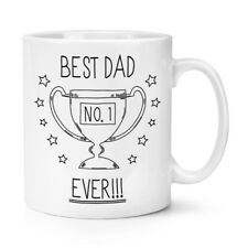 Best Dad Ever No.1 10oz Mug Cup - Funny Father's Day