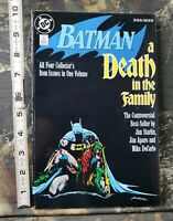 1988 1989 Dc Batman Death In The Family TPB Starlin Aparo DeCarlo 4th Print