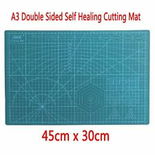 45x30cm A3 Double Sided Self Healing Rotary Knife Cutting Mat Paper Cut Board F@