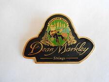 Vintage Dean Markley Signature Series Guitar Strings Advertising Pinback Pin