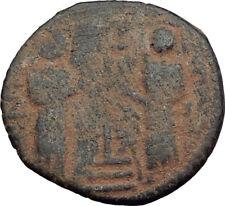 1146AD ARAB BYZANTINE Zangid Atabegs JESUS CHRIST Ancient ISLAMIC Coin i64840