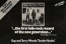 6/5/78PN37 Advert: Gay And Terry Woods 'tender Hooks' Album Out Now 7x11