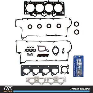 Cylinder Head Gasket Set w/ Silicone Fits 01-10 Hyundai Kit 2.0L G4GF G4GC