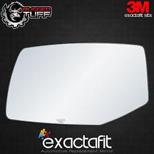 Exactafit Driver's Side Power Mirror Glass for 2004-2009 Cadillac SRX Auto Dim