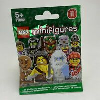 Lego Minifigures Series 11 71002 - Random Unopened - New & Sealed in Bag