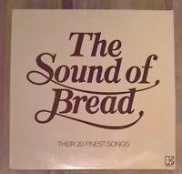 The Sound Of Bread - Their 20 Finest Songs Vinyl LP Album Comp Textured 1977