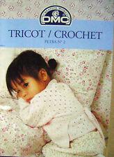 Magazine Tricot crochet créative world DMC Pétra  N°2 /H6