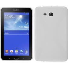 Funda de silicona Samsung Galaxy Tab 3 Lite 7.0 X-Style blanco