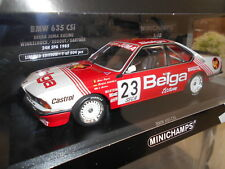 MIN155852523 BMW 6-SERIES 635CSi TEAM BELGA JUMA RACING 1985 #23 1:18