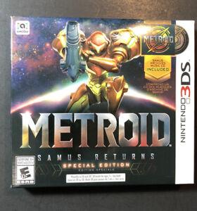 Metroid Samus Returns [ Special Edition ] (3DS) NEW