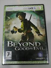 BEYOND GOOD & EVIL JEU DE PC ESPAGNOL DVD-ROM CODEGAME KIDS UBISOFT NEUF